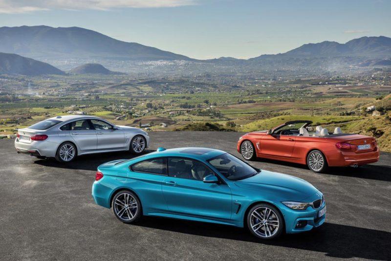 Обновленная линейка BMW 4-й серии