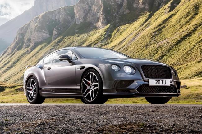 Bentley Continental Supersports II exterior