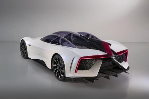 Электромобили будущего будут подзаряжать аккумуляторы от турбин