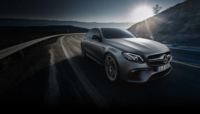 Новинка от немецкого концерна: Mercedes E63 AMG Estate