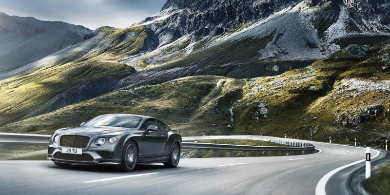 Новый Bentley Continental Supersports II