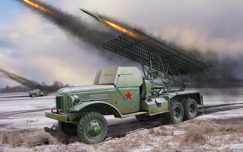 Реактивная артиллерийская установка БМ-13 или Боевая машина «Катюша»